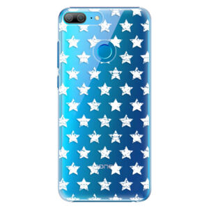 Plastové puzdro iSaprio - Stars Pattern - white - Huawei Honor 9 Lite