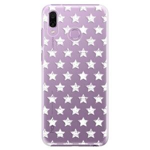 Plastové puzdro iSaprio - Stars Pattern - white - Huawei Honor Play