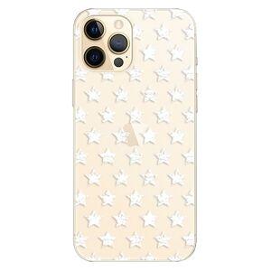 Plastové puzdro iSaprio - Stars Pattern - white - iPhone 12 Pro