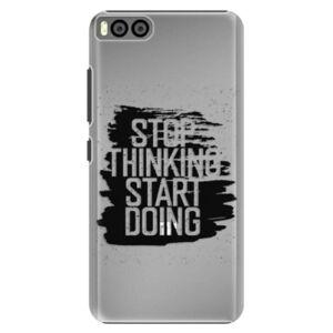 Plastové puzdro iSaprio - Start Doing - black - Xiaomi Mi6