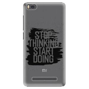 Plastové puzdro iSaprio - Start Doing - black - Xiaomi Mi4C