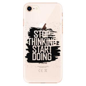 Plastové puzdro iSaprio - Start Doing - black - iPhone 8