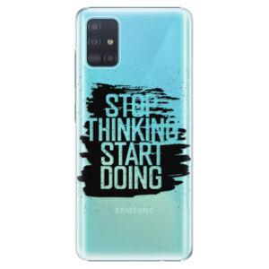 Plastové puzdro iSaprio - Start Doing - black - Samsung Galaxy A51