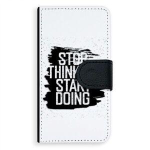 Univerzálne flipové puzdro iSaprio - Start Doing - black - Flip S