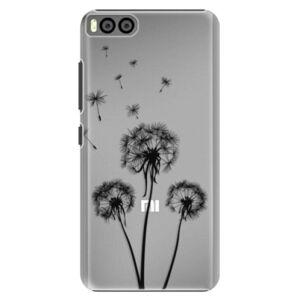 Plastové puzdro iSaprio - Three Dandelions - black - Xiaomi Mi6