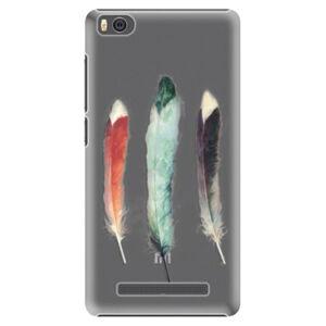 Plastové puzdro iSaprio - Three Feathers - Xiaomi Mi4C