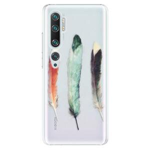 Plastové puzdro iSaprio - Three Feathers - Xiaomi Mi Note 10 / Note 10 Pro