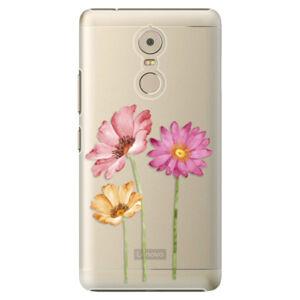 Plastové puzdro iSaprio - Three Flowers - Lenovo K6 Note