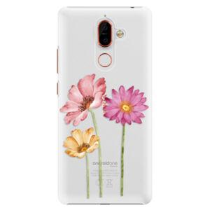 Plastové puzdro iSaprio - Three Flowers - Nokia 7 Plus