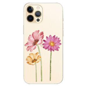 Plastové puzdro iSaprio - Three Flowers - iPhone 12 Pro