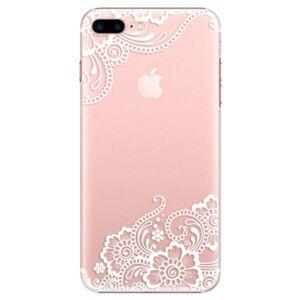Plastové puzdro iSaprio - White Lace 02 - iPhone 7 Plus