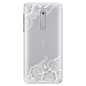 Plastové puzdro iSaprio - White Lace 02 - Nokia 5