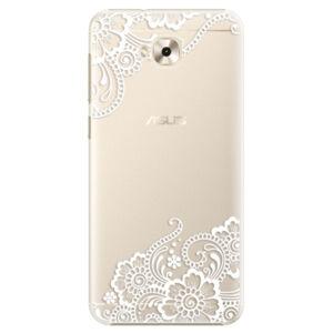 Plastové puzdro iSaprio - White Lace 02 - Asus ZenFone 4 Selfie ZD553KL