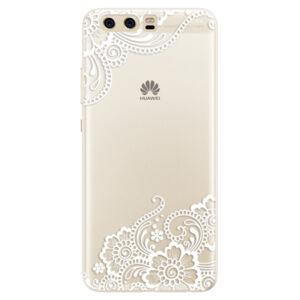 Silikónové puzdro iSaprio - White Lace 02 - Huawei P10