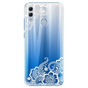 Plastové puzdro iSaprio - White Lace 02 - Huawei Honor 10 Lite