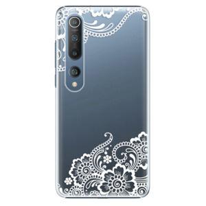 Plastové puzdro iSaprio - White Lace 02 - Xiaomi Mi 10 / Mi 10 Pro