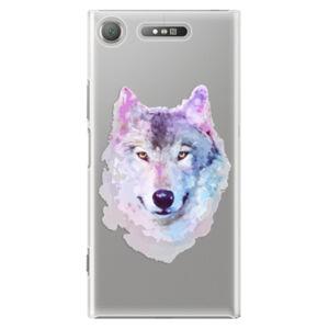 Plastové puzdro iSaprio - Wolf 01 - Sony Xperia XZ1