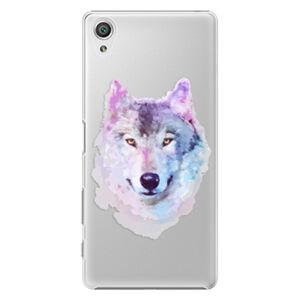 Plastové puzdro iSaprio - Wolf 01 - Sony Xperia X