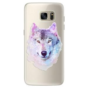 Silikónové puzdro iSaprio - Wolf 01 - Samsung Galaxy S7 Edge