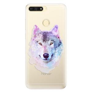 Silikónové puzdro iSaprio - Wolf 01 - Huawei Honor 7A