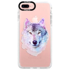 Silikónové púzdro Bumper iSaprio - Wolf 01 - iPhone 7 Plus