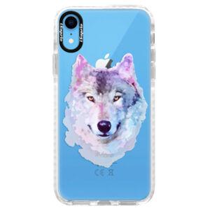 Silikónové púzdro Bumper iSaprio - Wolf 01 - iPhone XR