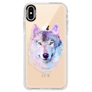 Silikónové púzdro Bumper iSaprio - Wolf 01 - iPhone XS Max
