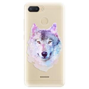 Odolné silikónové puzdro iSaprio - Wolf 01 - Xiaomi Redmi 6