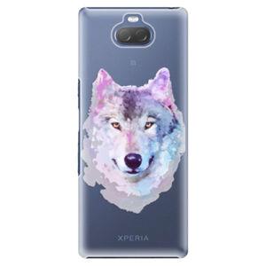 Plastové puzdro iSaprio - Wolf 01 - Sony Xperia 10 Plus