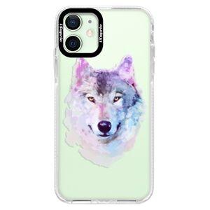 Silikónové puzdro Bumper iSaprio - Wolf 01 - iPhone 12