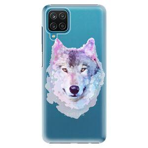 Plastové puzdro iSaprio - Wolf 01 - Samsung Galaxy A12