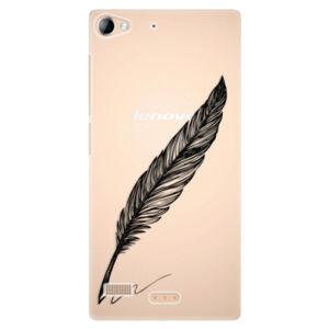 Plastové puzdro iSaprio - Writing By Feather - black - Sony Xperia Z2