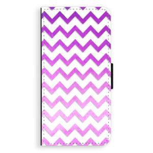 Flipové puzdro iSaprio - Zigzag - purple - Huawei Ascend P8