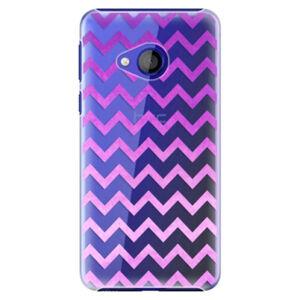 Plastové puzdro iSaprio - Zigzag - purple - HTC U Play