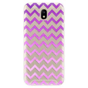 Odolné silikónové puzdro iSaprio - Zigzag - purple - Samsung Galaxy J5 2017