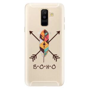 Silikónové puzdro iSaprio - BOHO - Samsung Galaxy A6+