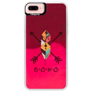 Neónové púzdro Pink iSaprio - BOHO - iPhone 7 Plus