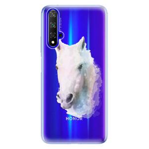Odolné silikónové puzdro iSaprio - Horse 01 - Huawei Honor 20