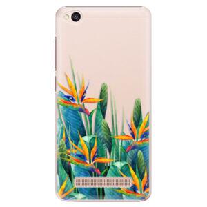 Plastové puzdro iSaprio - Exotic Flowers - Xiaomi Redmi 4A