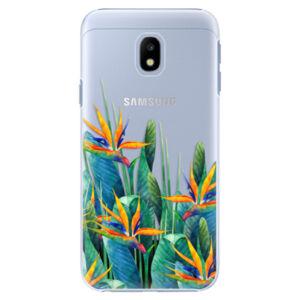 Plastové puzdro iSaprio - Exotic Flowers - Samsung Galaxy J3 2017