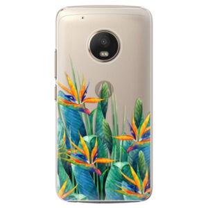 Plastové puzdro iSaprio - Exotic Flowers - Lenovo Moto G5 Plus