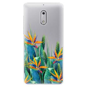 Plastové puzdro iSaprio - Exotic Flowers - Nokia 6