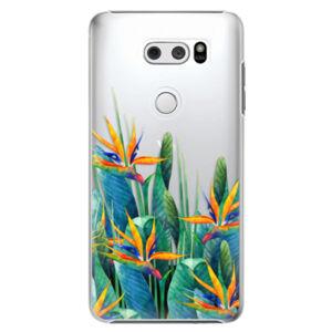 Plastové puzdro iSaprio - Exotic Flowers - LG V30