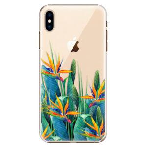 Plastové puzdro iSaprio - Exotic Flowers - iPhone XS Max