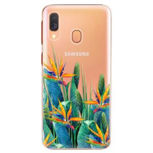 Plastové puzdro iSaprio - Exotic Flowers - Samsung Galaxy A40