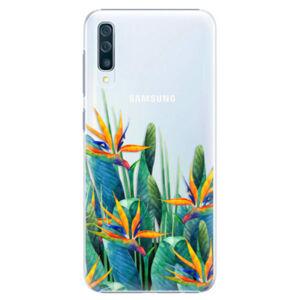 Plastové puzdro iSaprio - Exotic Flowers - Samsung Galaxy A50