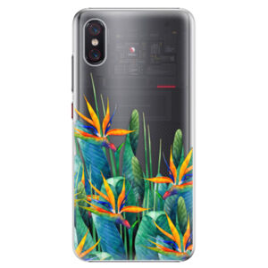 Plastové puzdro iSaprio - Exotic Flowers - Xiaomi Mi 8 Pro