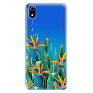 Odolné silikónové puzdro iSaprio - Exotic Flowers - Xiaomi Redmi 7A