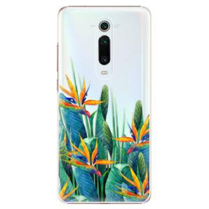 Plastové puzdro iSaprio - Exotic Flowers - Xiaomi Mi 9T Pro