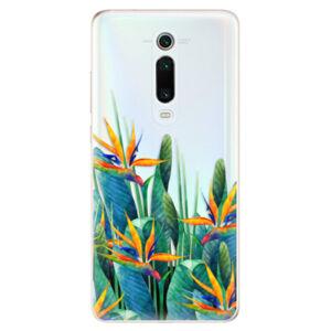 Odolné silikónové puzdro iSaprio - Exotic Flowers - Xiaomi Mi 9T Pro